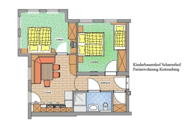 Grundriss App. Kratzenberg