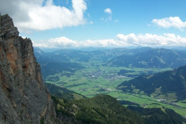 Blick von der Passauer Hütte