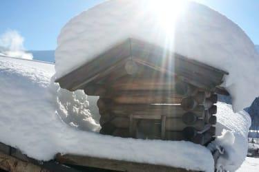 frisch verschneit ... faszinierend !