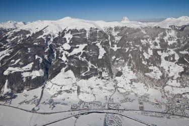 Blic auf den Wildkogel - Pinzgauer Grasberge