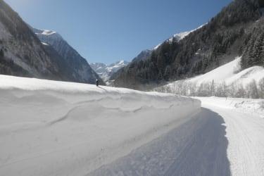 fast 2 m Schnee