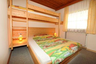 Kuscheliges Kinderzimmer in der Ferienwohnung Rettenegg