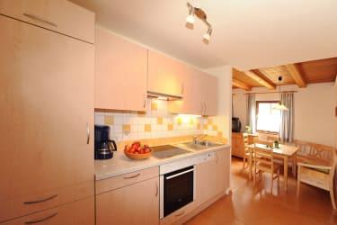 Küchenblock mit Geschirrspüler Ferienwohnung Rettenegg