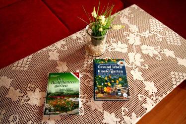 Lektüre Kräutergarten