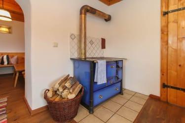 fireplace Günzberghütte