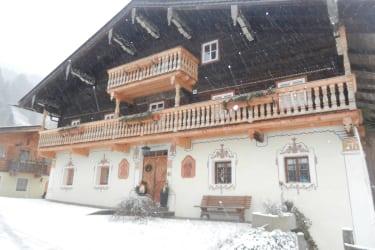 Winterbild Bauernhaus