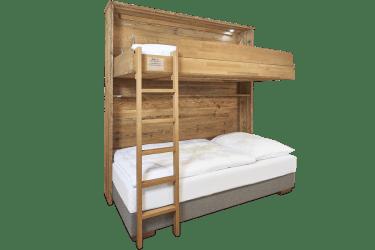 Flexinno Schlafsystem ausgeklappt