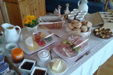 Stube/Frühstücksbuffet