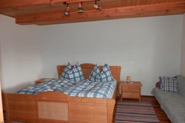 Schlafzimmer im Erdgeschoss