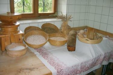 hofeigenes Getreide