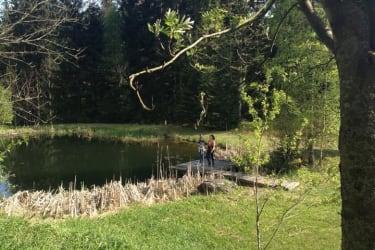unser Fisch- und Badeteich