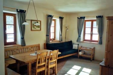 Gemütliche Innenausstattung in der Ferienwohnung für 2-4 Personen