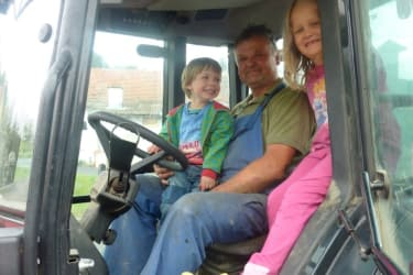 Bauernhoferlebnis Traktor fahren