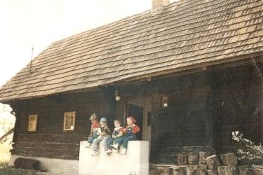 Hoamatl Baujahr 1818 Altes Gehöft am Lormanberg Steirisches Vulkanland Österreich