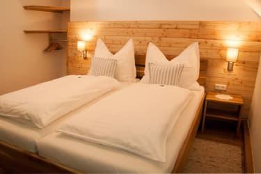 kuscheliges Doppelzimmer in der Ferienwohnung