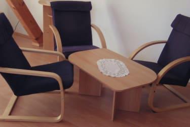 Sitzecke in der Wohnküche für gemütliche Stunden