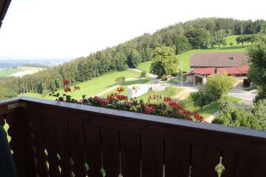 Balkon Sonnenaufgang