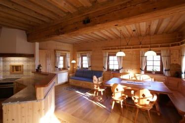 Wohnküche in der Hirschbirnwohnung