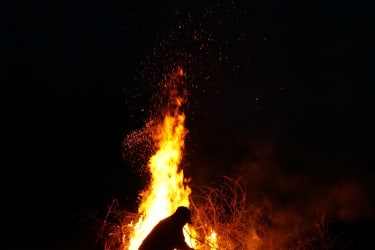 Unser traditionelles Osterfeuer