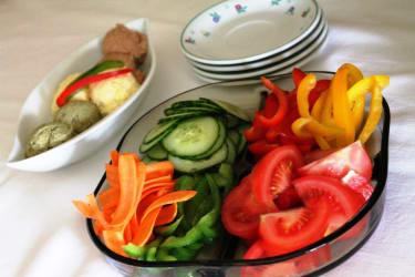 Gemüse vom Hausgarten