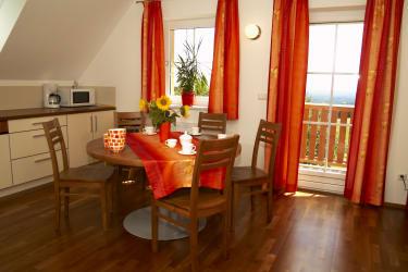 Küche Ferienwohnung Salbei