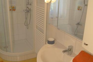 Badezimmer Ferienwohnung Minze