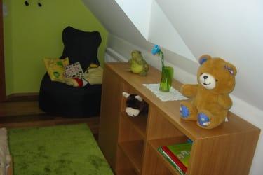 Kinderzimmer in der Ferienwohnung Salbei