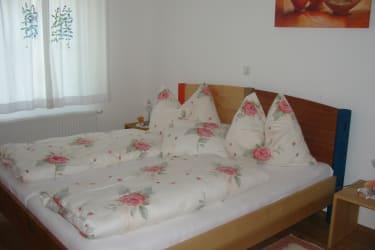 Schlafzimmer Ferienwohnung Minze