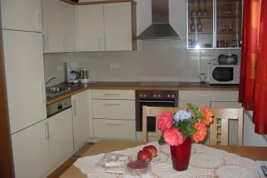 Küche Ferienwohnung Minze