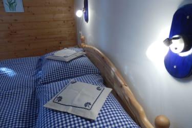Schlafzimmer Heidelbeerwohnung