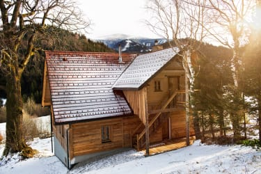Bauernhaus mit Zirbeneinrichtung