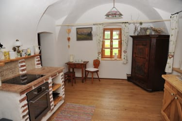 Wohnküche Gwölb-Apartment