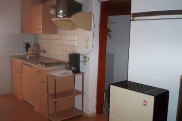 Kochnische in der Almlandhütte