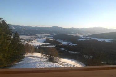 Blick vom Balkon d.Ferienhauses