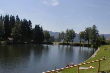 Badeteich in Seckau
