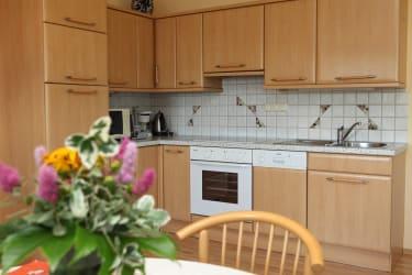 Küche der Wohnung im Haus Presse unten