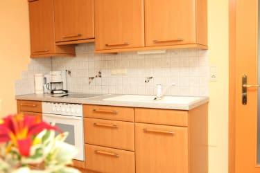 Küche der Wohnung im Haus Presse oben