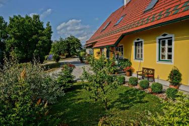 Bauernhof Hofbereich