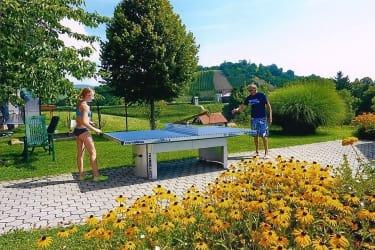 Tischtennis mit Opa
