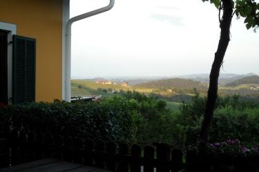 Aussicht Terrasse Buschenschank