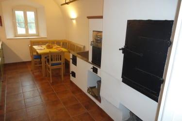Küche mit Tischherd - EG