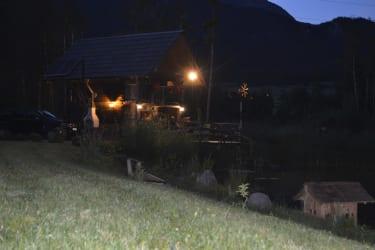Ein Abend am Fischteich