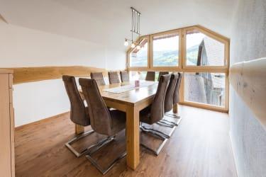 Wohnküche mit Panoramafenster