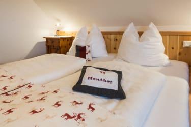 Schlafzimmer roter Hirsch