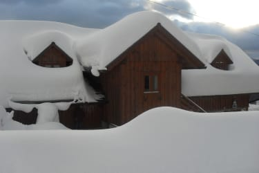 Ferienwohnung im Winter