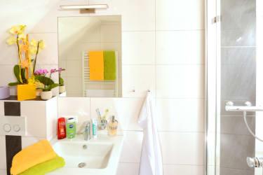 Badezimmer FEWO Tausingblick