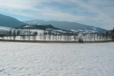 Winterlandschaft am Putterersee