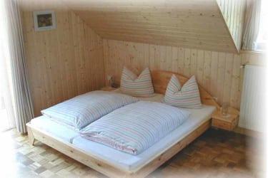 Betten in der Ferienwohnung