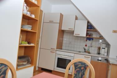 Wohnküche der Ferienwohnung Grimmingblick