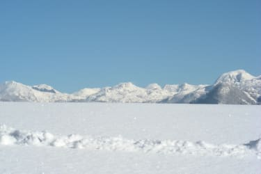 Totes Gebirge im Winter